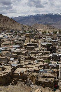 Leh, famous city of Ladakh valley